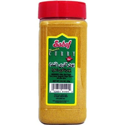 Sadaf Curry Powder Hot, 13.3-Ounce (Pack of 4)