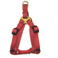 Hamilton Pet Company - Adjustable Easy On Harness- Red 1 X 30-40 - SHA LGRD