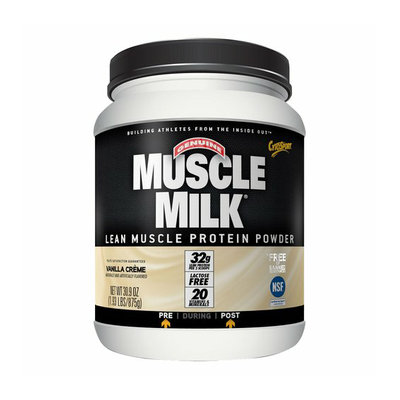 Muscle Milk Vanilla Creme Lean Muscle Protein Powder