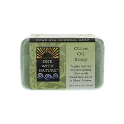 One With Nature Dead Sea Mineral Soap Olive Oil - 7 oz