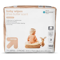 up & up Baby Wipes - Shea Butter