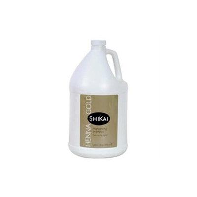 Shikai Henna Gold Highlighting Shampoo - 1 Gallon