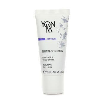 Nutri-Contour Repairing Eyes & Lips Creme by Yonka for Unisex - 0.5 oz Creme
