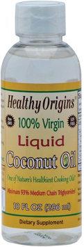 Healthy Origins - 100 Virgin Liquid Coconut Oil - 10 oz.