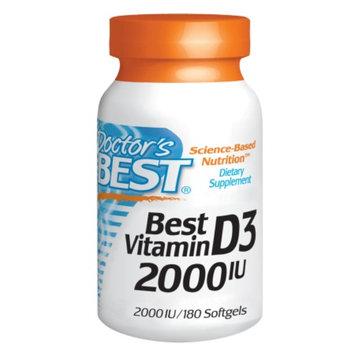 Doctor's Best Vitamin D3 2000 IU