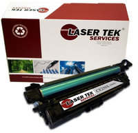 Laser Tek Services HP CE250X (504X) Black High Yield Compatible Replacement Toner Cartridge