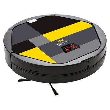Yujin Robot Co., Ltd. iCLEBO Pop, Superior Robotic Vacuum Cleaner with Double Whirling Technology