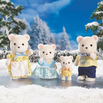 International Playthings Calico Critters Polar Bear Family