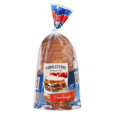 Flowers Baking Co. Cobblestone Bread Co. Sourdough Artisan Long Loaf 16 oz