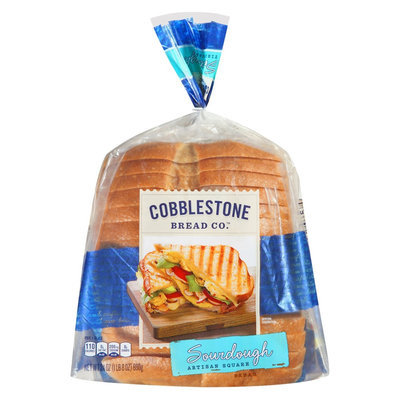 Flowers Baking Co. Cobblestone Bread Co. Sourdough Artisan Square Sliced Bread 24 oz