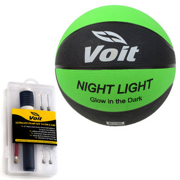 Lion Sports Voit Catch and Shoot Glow in the Dark Size 7 Rubber Basketball