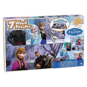 Disney Frozen 7PK Wood Puzzle