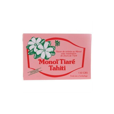 Monoi Tiare Tahiti Coconut Oil Soap - Tahitian Jasmine