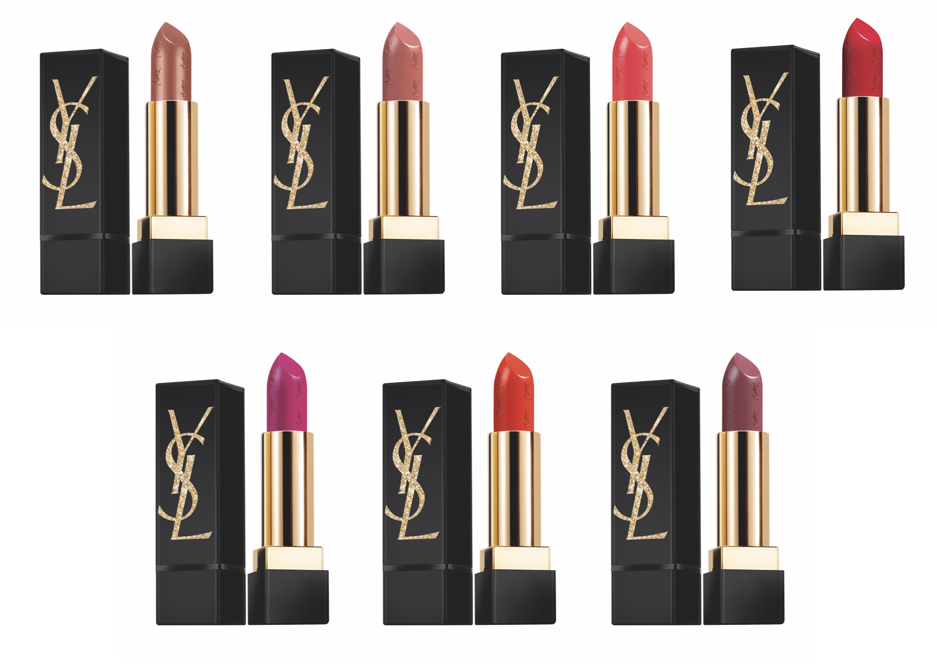 Yves Saint Laurent Rouge Pur Couture Gold Attraction Lipstick