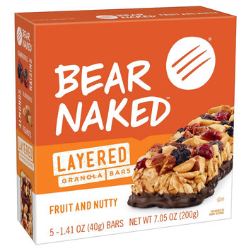 Chewy Granola Bar Bear Naked 8 Package Quantity