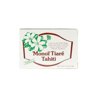 Monoi Tiare Tahiti - Coconut Oil Soap Bar Vanilla - 4.55 oz.