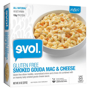Evol Gluten Free Smoked Gouda Mac and Cheese 8oz