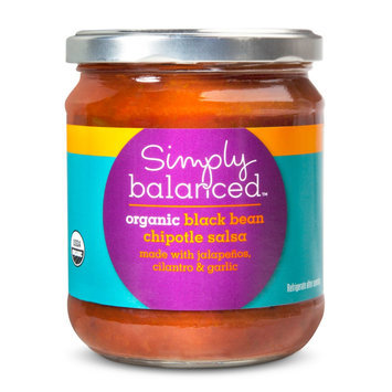 Simply Balanced Organic Bean and Chipotle Medium Salsa 16oz