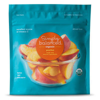 Simply Balanced Organic Frozen Sliced Peaches 10oz
