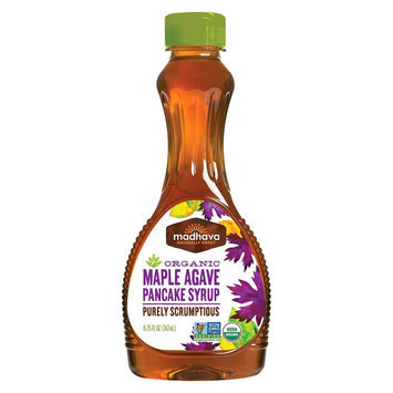 Madhava Honey Syrup Pancake Maple Org 11.75Fo Pack Of 6