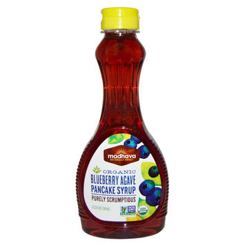 Madhava Honey Syrup Pancake Blubry Org 11.75Fo Pack Of 6
