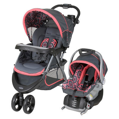 Baby Trend Baby Nexton Travel System - Coral Floral