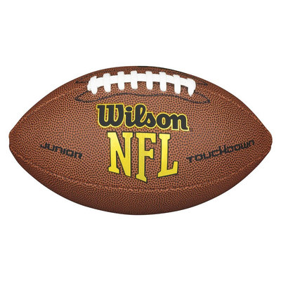 Wilson NFL Touchdown Junior Football - Brown