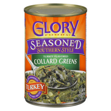 Glory Foods Seasoned Southern Style Turkey Flavored Collard Greens 14.5 oz