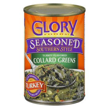 Glory Foods Seasoned Southern Style Turkey Flavored Collard Greens 14.5 oz