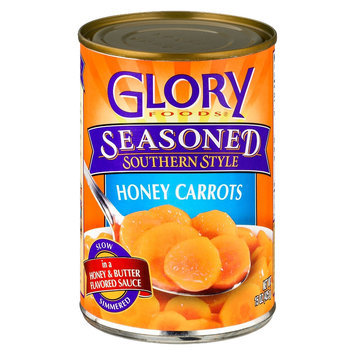 Glory Foods Seasoned Southern Style Honey Carrots 15 oz