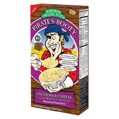 Pirates Booty Pirate's Booty Anchors & Cheese Aged White Cheddar Shapes 6 oz