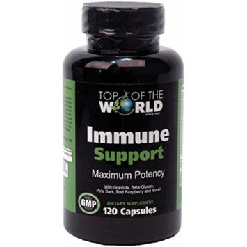 Top of the World Naturals Immune Support, 120 Capsules, Bottle