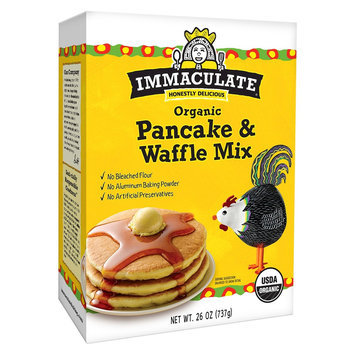 Immaculate Baking Immaculate Organic Pancake & Waffle Mix 26 oz