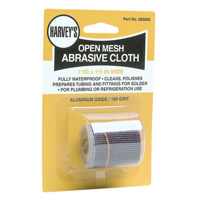 Harvey Co 095600 Open Mesh Abrasive Sandcloth