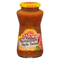 Campbell Soup Company Pace Peach Mango Salsa 16oz