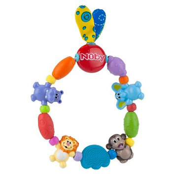 Nuby Safari Friends Baby Teether - Assorted Colors