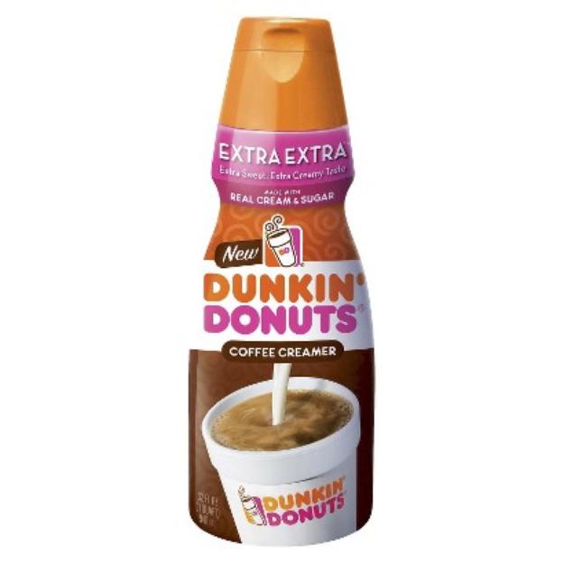 White Wave/Horizon Dunkin Donuts Extra Extra Creamer 32oz