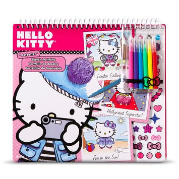 License Hello Kitty Portfolio with Markers