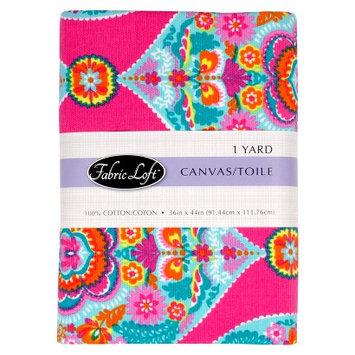 Fabric Loft Trapeze Large Damask Fabric - Pink (1 yd)