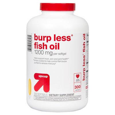 Perrigo Burp-Less Fish Oil 1200 mg Softgels 200 Count - up & up