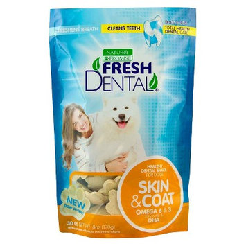 Pet Supplement Natural Promise Fresh Dental Skin & Coat 8 oz 30 ct