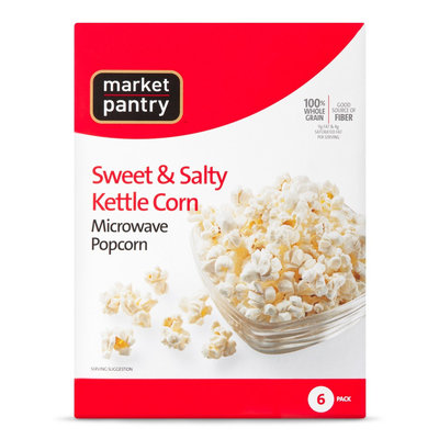 Market Pantry Sweet & Salty Kettle Corn 6 ct