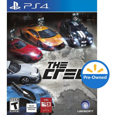 Ubisoft The Crew (PS4) - Pre-Owned