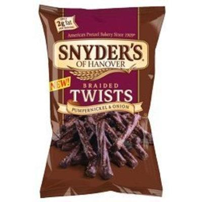 Snyder's Of Hanover Snyder's Pumpernickel & Onion Pretzel Twists