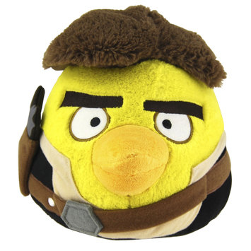 Commonwealth Angry Birds Star Wars Hans Solo Plush