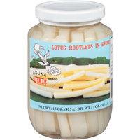 Asuka Brand Lotus Rootlets in Brine, 15 oz