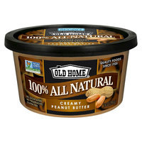 Old Home Foods, Inc. Old Home All Natural Creamy Peanut Butter 14 oz