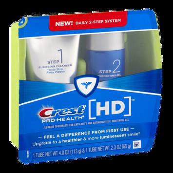 Crest Pro-Health HD Fluoride Toothpaste/Whitening Gel - 2 CT