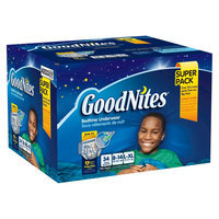 Huggies GoodNites Underwear for Boys L/XL (34 Count)