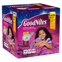Huggies GoodNites Underwear for Girls S/M (44 Count)